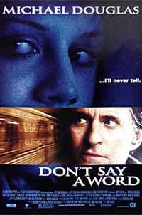 Don't Say a Word Movie Poster