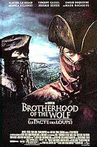 Brotherhood of the Wolf Movie Poster