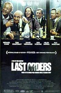 Last Orders Movie Poster