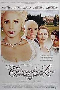 The Triumph of Love Movie Poster