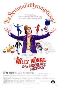 Willy Wonka and the Chocolate Factory (1971) Movie Poster