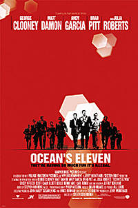 Ocean's Eleven - Open Captioned Movie Poster