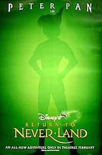 Return to Neverland - Open Captioned Movie Poster