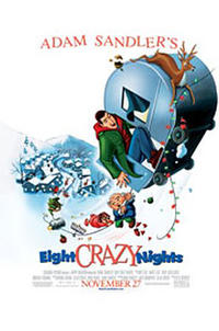 Adam Sandler's 8 Crazy Nights Movie Poster