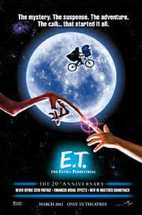 E.T. the Extra-Terrestrial: The 20th Anniversary - Open Captioned Movie Poster