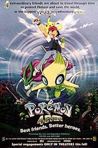 Pokémon 4Ever Movie Poster