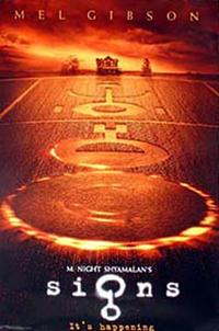 Signs - Open Captioned Movie Poster