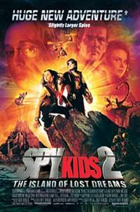 Spy Kids 2: The Island of Lost Dreams - Open Captioned Movie Poster