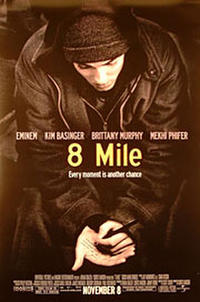8 Mile - Open Captioned Movie Poster