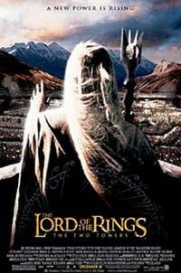 The Lord of the Rings: The Two Towers - Open Captioned Movie Poster