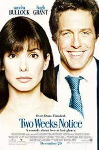 Two Weeks Notice - Open Captioned Movie Poster