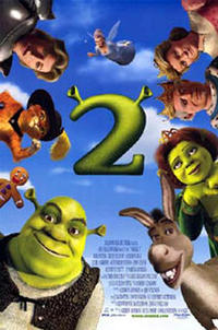Shrek 2 Movie Poster