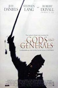 Gods and Generals - DLP (Digital Projection) Movie Poster