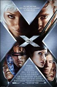 X2: X-Men United - DLP (Digital Projection) Movie Poster