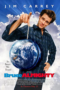Bruce Almighty - Open Captioned Movie Poster