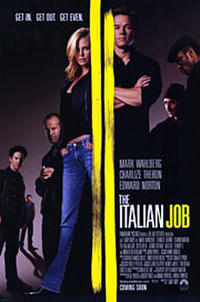 The Italian Job - Open Captioned Movie Poster