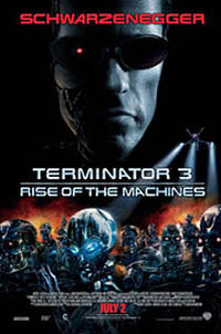 Terminator 3: Rise of the Machines - VIP Movie Poster