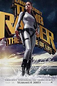 Lara Croft: Tomb Raider: The Cradle of Life - Open Captioned Movie Poster