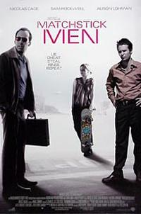 Matchstick Men - DLP (Digital Projection) Movie Poster