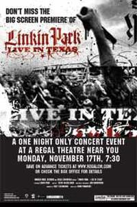 Linkin Park: Live in Texas Movie Poster