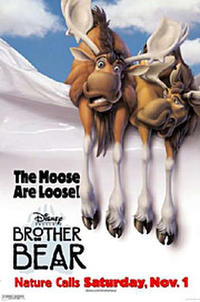 Brother Bear - Open Captioned Movie Poster