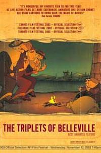 The Triplets of Belleville Movie Poster