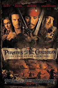 Pirates of the Caribbean: The Curse of the Black Pearl - Spanish Subtitles Movie Poster