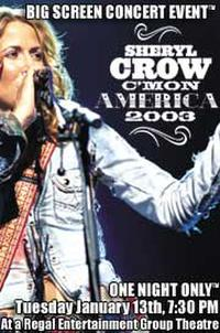 Sheryl Crow Concert Movie Poster