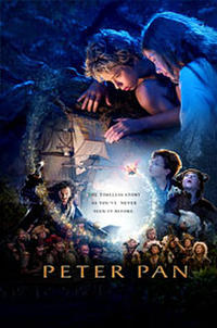 Peter Pan - Open Captioned Movie Poster
