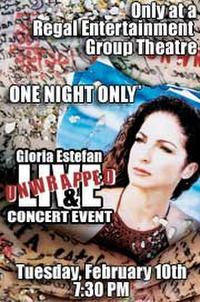 Gloria Estefan Concert Movie Poster