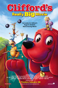Clifford's Really Big Movie Movie Poster