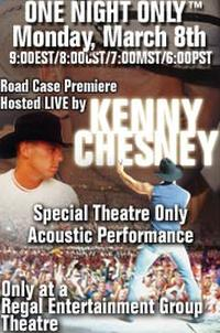 Kenny Chesney Concert Movie Poster