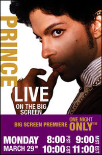 Prince Concert Movie Poster
