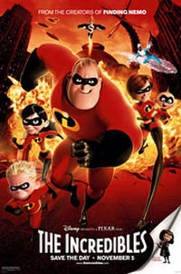 The Incredibles (2004) Movie Poster
