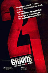 21 Grams - VIP Movie Poster