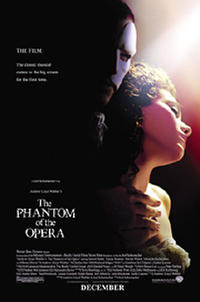 Andrew Lloyd Webber's The Phantom of the Opera Movie Poster