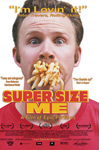 Super Size Me Movie Poster