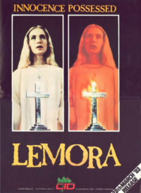 Lemora: A Child's Tale of the Supernatural / Blood and Roses Movie Poster