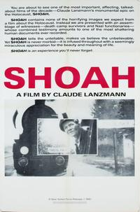 Shoah: Part 1 Movie Poster