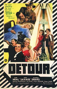 Detour (1945) Movie Poster
