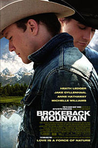 Brokeback Mountain Movie Poster