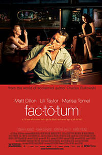 Factotum Movie Poster