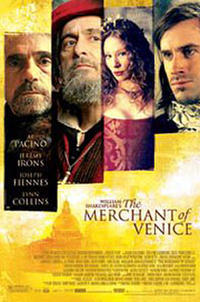 William Shakespeare's The Merchant of Venice Movie Poster