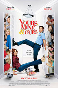 Yours, Mine & Ours (2005) Movie Poster