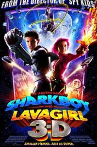 The Adventures of Shark Boy and Lava Girl in 3D Movie Poster