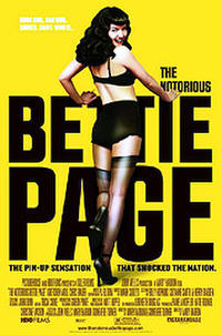 The Notorious Bettie Page Movie Poster