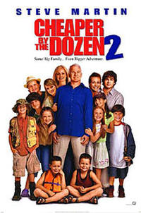 Cheaper by the Dozen 2 Movie Poster