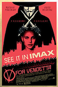V for Vendetta: The IMAX Experience Movie Poster