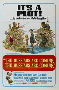 The Russians Are Coming, The Russians Are Coming! (1966) Movie Poster