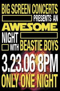 An Awesome Night with Beastie Boys Movie Poster